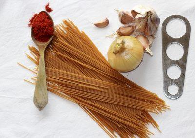 Espaguetis a lo Busgosu